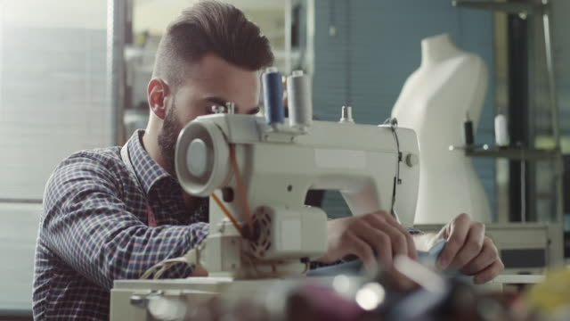 male tailor - male animal stock videos & royalty-free footage