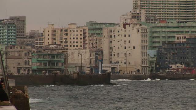 ls zo malecon promenade, havana, ciudad de la habana, cuba - 2008 stock videos & royalty-free footage