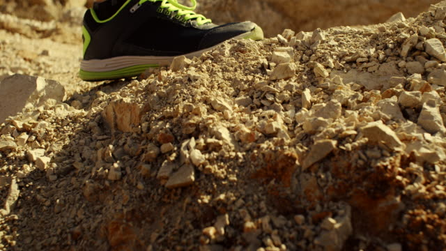 male's legs trail running - hoozone stock videos and b-roll footage