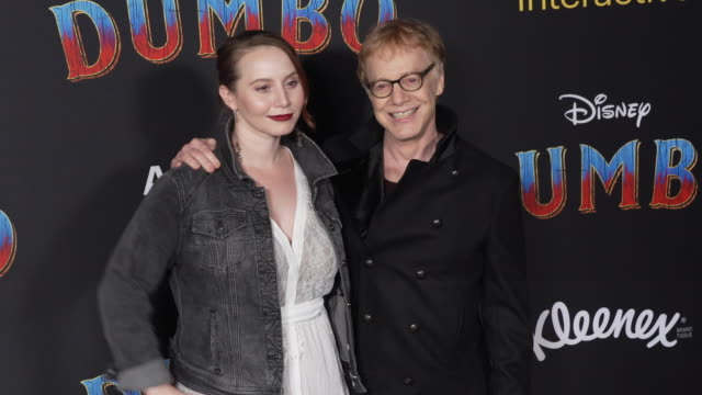 """mali elfman and danny elfman at the """"dumbo"""" world premiere at the el capitan theatre on march 11, 2019 in hollywood, california. - el capitan theatre stock videos & royalty-free footage"""