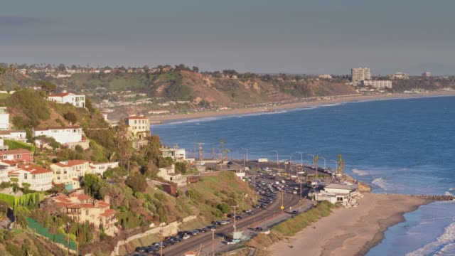malibu, california - aerial view - malibu stock videos & royalty-free footage