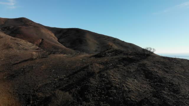 malibu wildfire fires burn areas - ash stock videos & royalty-free footage