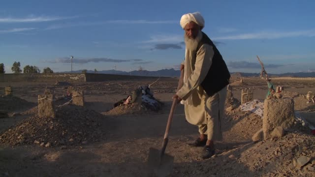 Malik Abdul Hakim digs graves for suicide bombers and insurgents in Kandahar Afghanistan and increasingly hes burying the remains of children