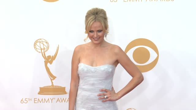 malin ackerman at 65th annual primetime emmy awards - arrivals on 9/22/2013 in los angeles, ca. - malin åkerman stock videos & royalty-free footage