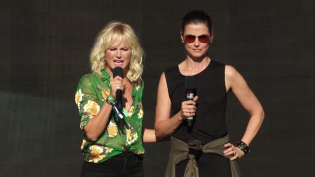 SPEECH Malin Akerman and Bridget Moynahan at 2017 Global Citizen Festival For Freedom For Justice For All at Central Park on September 23 2017 in New...