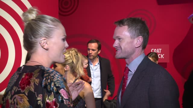 Malin Akerman and Neil Patrick Harris at Target Wonderland on December 07 2015 in New York City