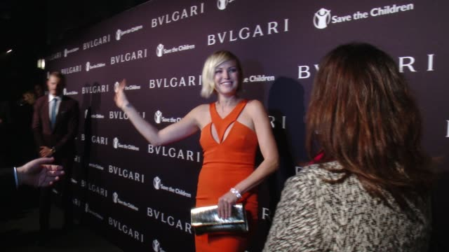 Malin Akerman at BVLGARI Partners With Save The Children To Launch STOPTHINKGIVE A Collection Of Celebrity Portraits By Fabrizio Ferri on February 17...