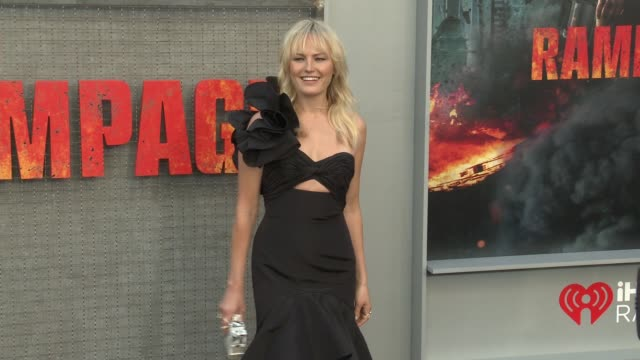 Malin Akerman at 'Rampage' World Premiere in Los Angeles CA