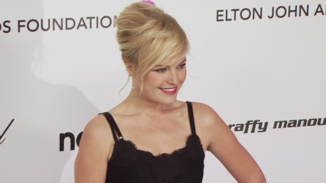 Malin Akerman at the 18th Annual Elton John AIDS Foundation Oscar Party at West Hollywood CA
