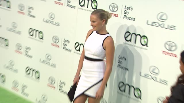 Malin Akerman at the 2013 Environmental Media Awards Presented by Toyota Lexus at Warner Bros Studios in Burbank CA on 10/19/13 in Burbank CA
