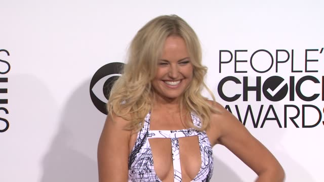 Malin Akerman at the 40th Annual People's Choice Awards Arrivals at Nokia Theatre LA Live on in Los Angeles California