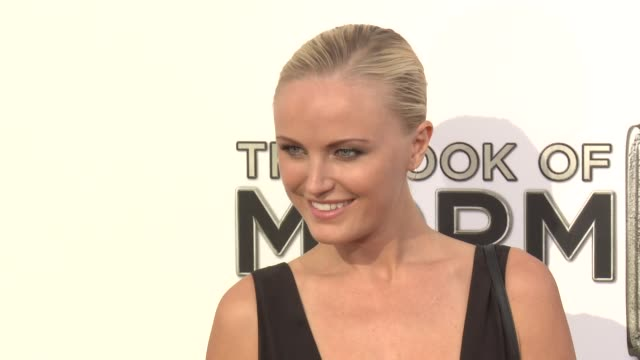 Malin Akerman at The Book Of Mormon Los Angeles Opening Night on 9/12/12 in Los Angeles CA