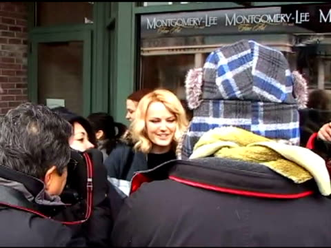 Malin Akerman at the Celebrity Sightings at Sundance at Park City UT