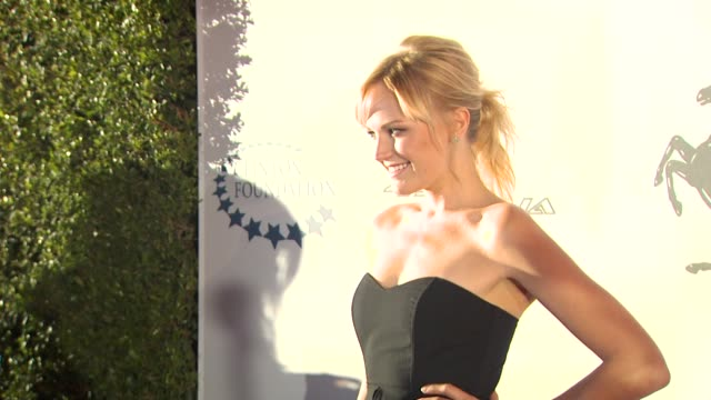 Malin Akerman at the Ferrari 458 Italia Brings Funds For Haiti Relief at Los Angeles CA