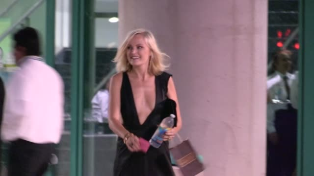 Malin Akerman departs the 2012 Primetime Creative Arts Emmy Awards in Los Angeles 09/15/12