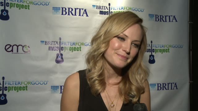 Malin Akerman on being a part of the event at Brita FilterForGood Music Project Exclusive Screening Party Hosted By Malin Akerman in Park City Utah...