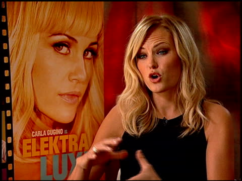 Malin Akerman on her character and playing Linda Lovelace at the 'Elektra Luxx' Junket at Los Angeles CA