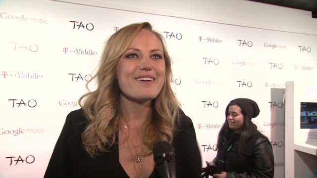 malin akerman on her sundance experience at t-mobile presents google music at tao - day 2 in park city, utah, on 1/21/2012 - malin åkerman stock videos & royalty-free footage