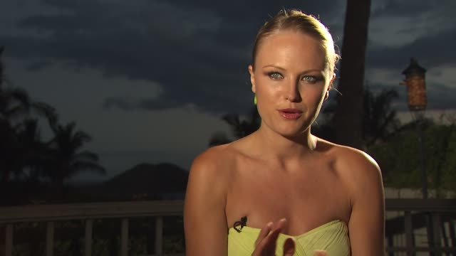 Malin Akerman on what projects she has lined up next at the 2010 Maui Film Festival Interviews with cast of Happythankyoumoreplease at Wailea HI