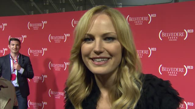 Malin Akerman on working with Mary J Blige and on looking forward to the Grammy Awards at RED Special Edition Party With Exclusive Performance By...