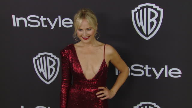 malin åkerman at the warner bros. and instyle host 20th annual post-golden globes party at the beverly hilton hotel on january 06, 2019 in beverly... - malin åkerman stock videos & royalty-free footage