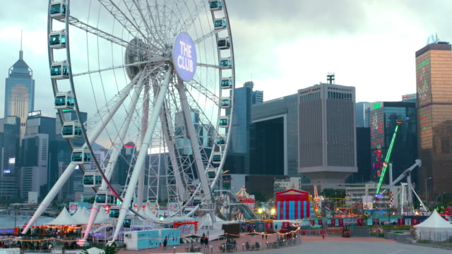 mall & funfair - central plaza hong kong stock videos & royalty-free footage