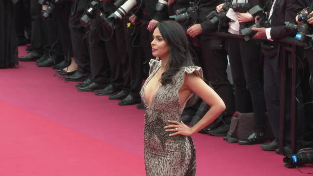 Mallika Sherawat at 'La Belle Epoque' Red Carpet Arrivals The 72nd Cannes Film Festival at Palais des Festivals on May 20 2019 in Cannes France