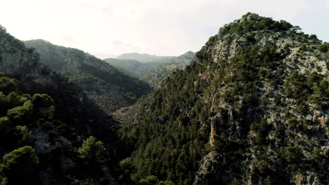 Mallorca mountain ridge.