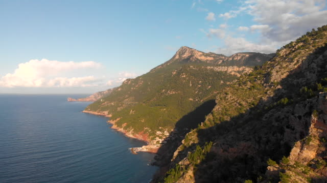 mallorca spain 4k aerial - majorca stock videos & royalty-free footage
