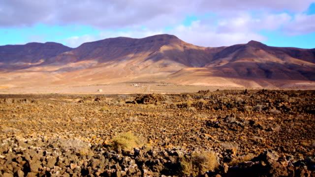Malpaís Grande views from Pozo Negro valley - Fuerteventura