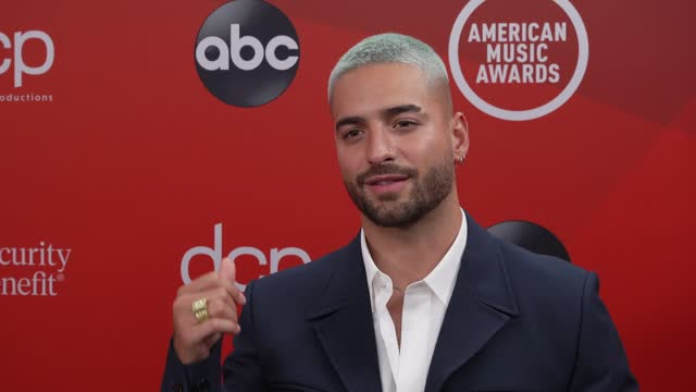 maluma on performing with jennifer lopez and the event at microsoft theater on november 20, 2020 in los angeles, california. - microsoft theater los angeles stock videos & royalty-free footage