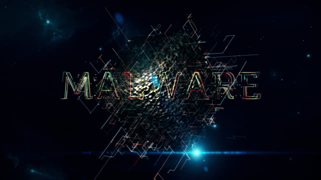 malware matrix cube - vulnerability stock videos & royalty-free footage