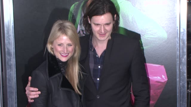 Mamie Gummer and Benjamin Walker at 'Young Adult' World Premiere Arrivals Red Carpet New York NY United States