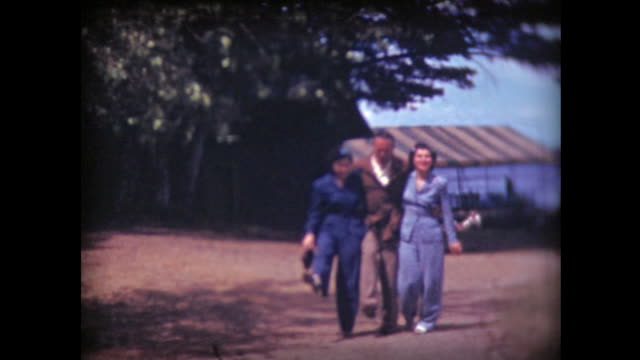 1941 man and two women match steps, dance - stepping stock videos & royalty-free footage