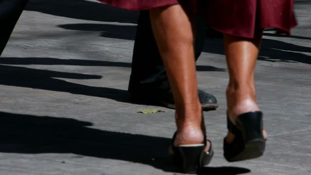 man and woman's dancing feet - yucatan peninsula stock videos and b-roll footage