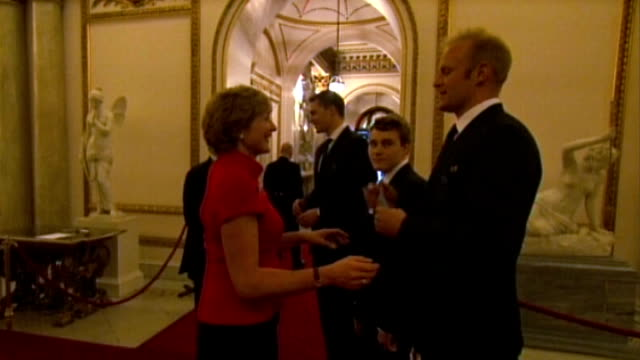 man arrested over olympic medal thefts lib / london buckingham palace int alex partridge at royal reception for olympic athletes - olympic medal stock videos & royalty-free footage