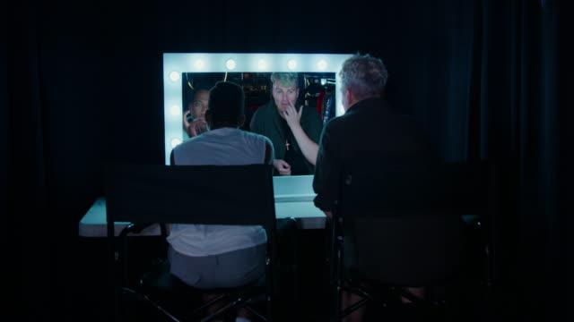 man backstage in a nightclub - genderblend stock videos & royalty-free footage