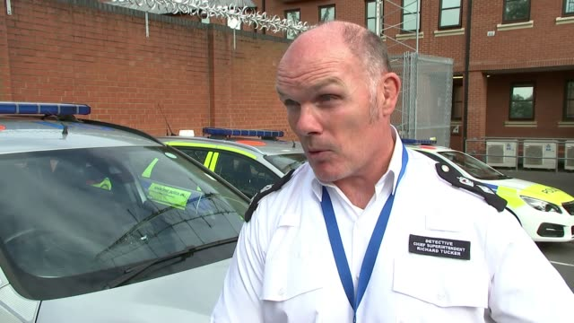 Man charged with attempted murder after police officer attacked with machete in Leyton ENGLAND London EXT Detective Chief Superintendent Richard...