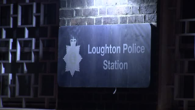 man charged with murder after schoolboy hit by car in loughton: house and police station gvs; england: essex: loughton: ext / night gvs loughton... - boys stock videos & royalty-free footage