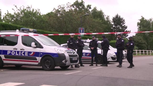 man claiming allegiance to the islamic state group killed a french policeman and his partner say investigators in what authorities blast as an... - assertiveness stock videos & royalty-free footage