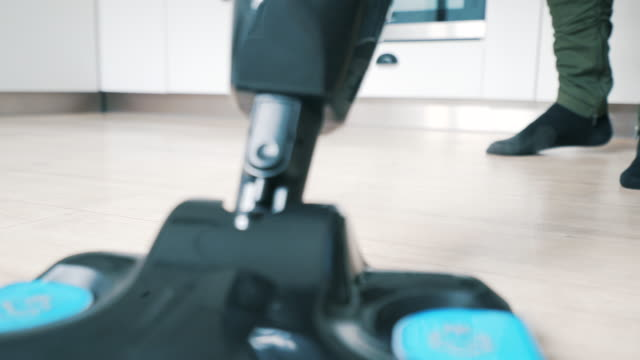 man cleaning the floor. - steam stock videos & royalty-free footage