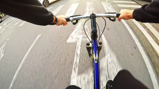 man cycling on the bike - road trip stock videos & royalty-free footage