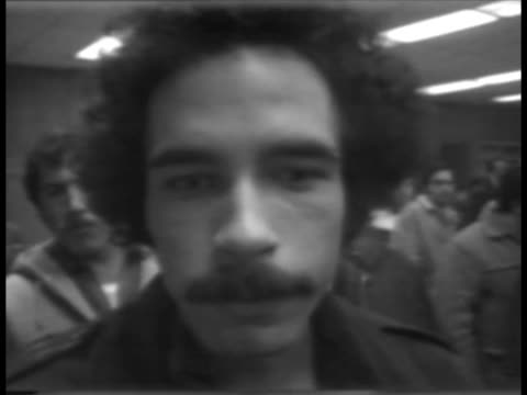 a man describes frustration of unemployment - logan circle stock videos and b-roll footage