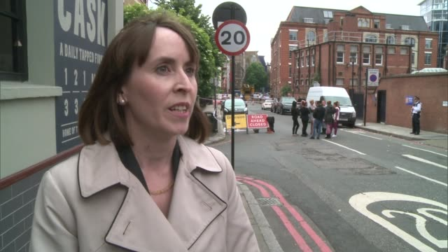 man dies after being injured in argument england london ext detective chief inspector rebecca reeves interview sot appeals for witnesses to the... - 証人点の映像素材/bロール