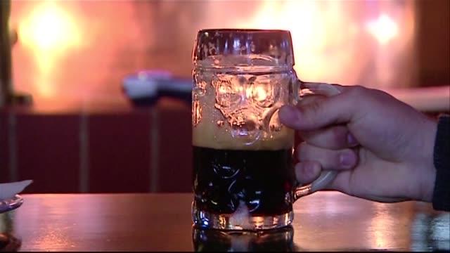 man drinking beer - mug stock videos & royalty-free footage