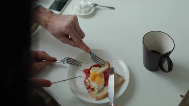 man feeding woman - mug stock videos & royalty-free footage