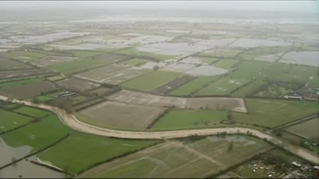 man fined for opening sluice gate on the somerset levels during floods england somerset flooding on the somerset levels - somerset levels stock videos and b-roll footage