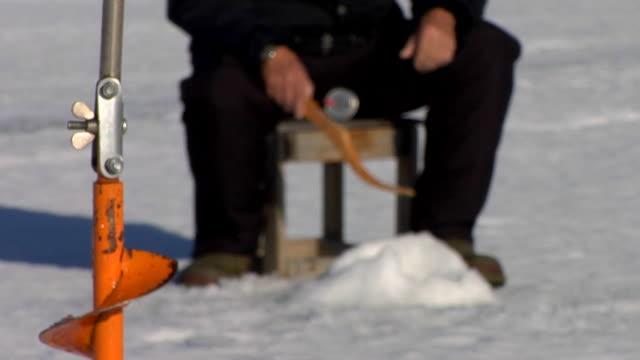 Man fishing Sweden.