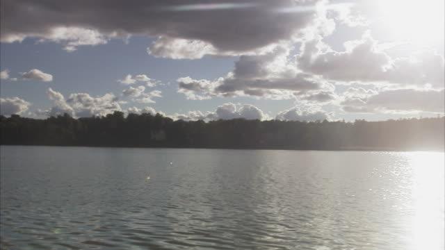 vídeos de stock e filmes b-roll de a man fishing sweden. - emaranhado