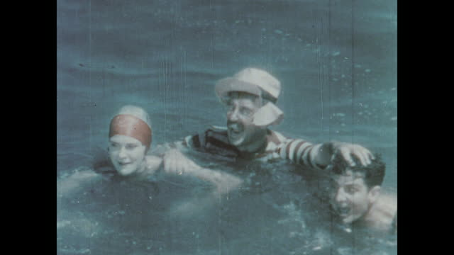 1930 A man gets the job after saving his boss from drowning